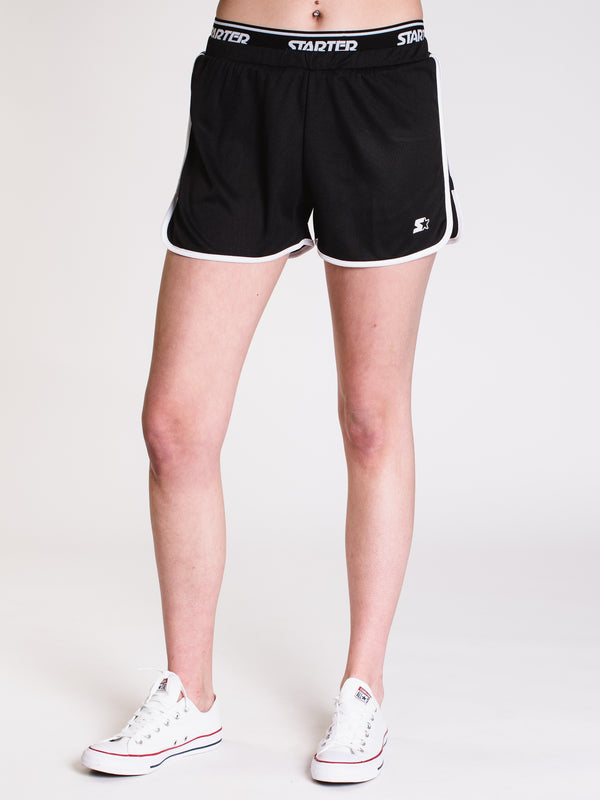 WOMENS GYM SHORT - BLACK