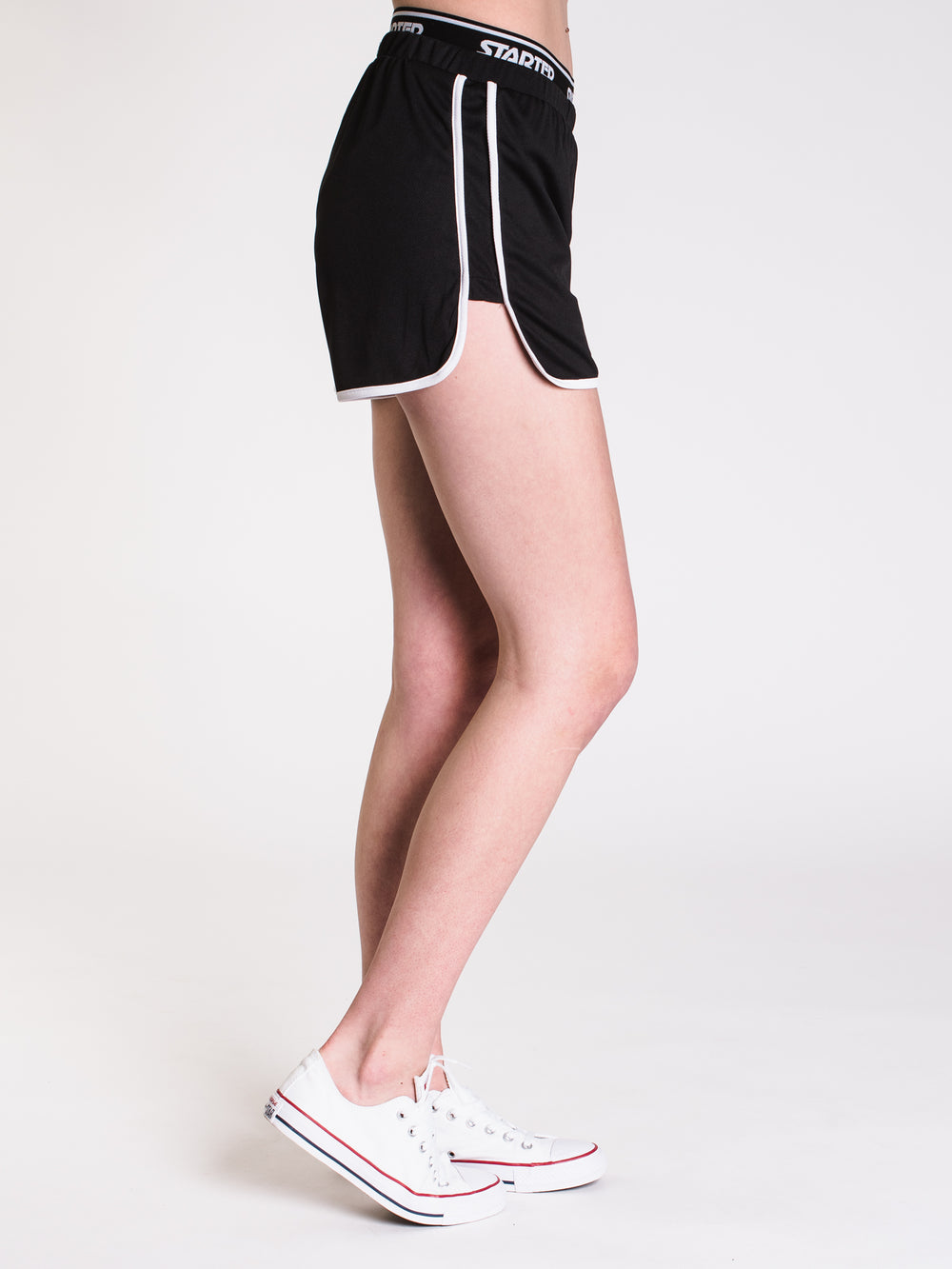 WOMENS GYM SHORT - BLACK - CLEARANCE