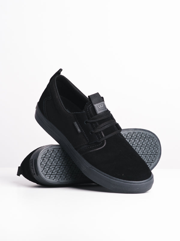MENS FLOW - BLACK/DARK GREY
