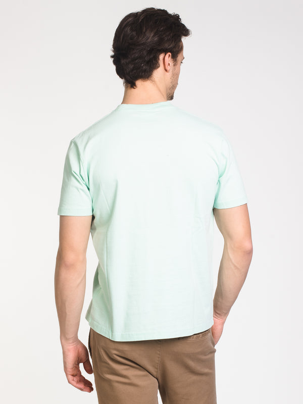 MENS EMB SHORT SLEEVE T-SHIRT- MINT