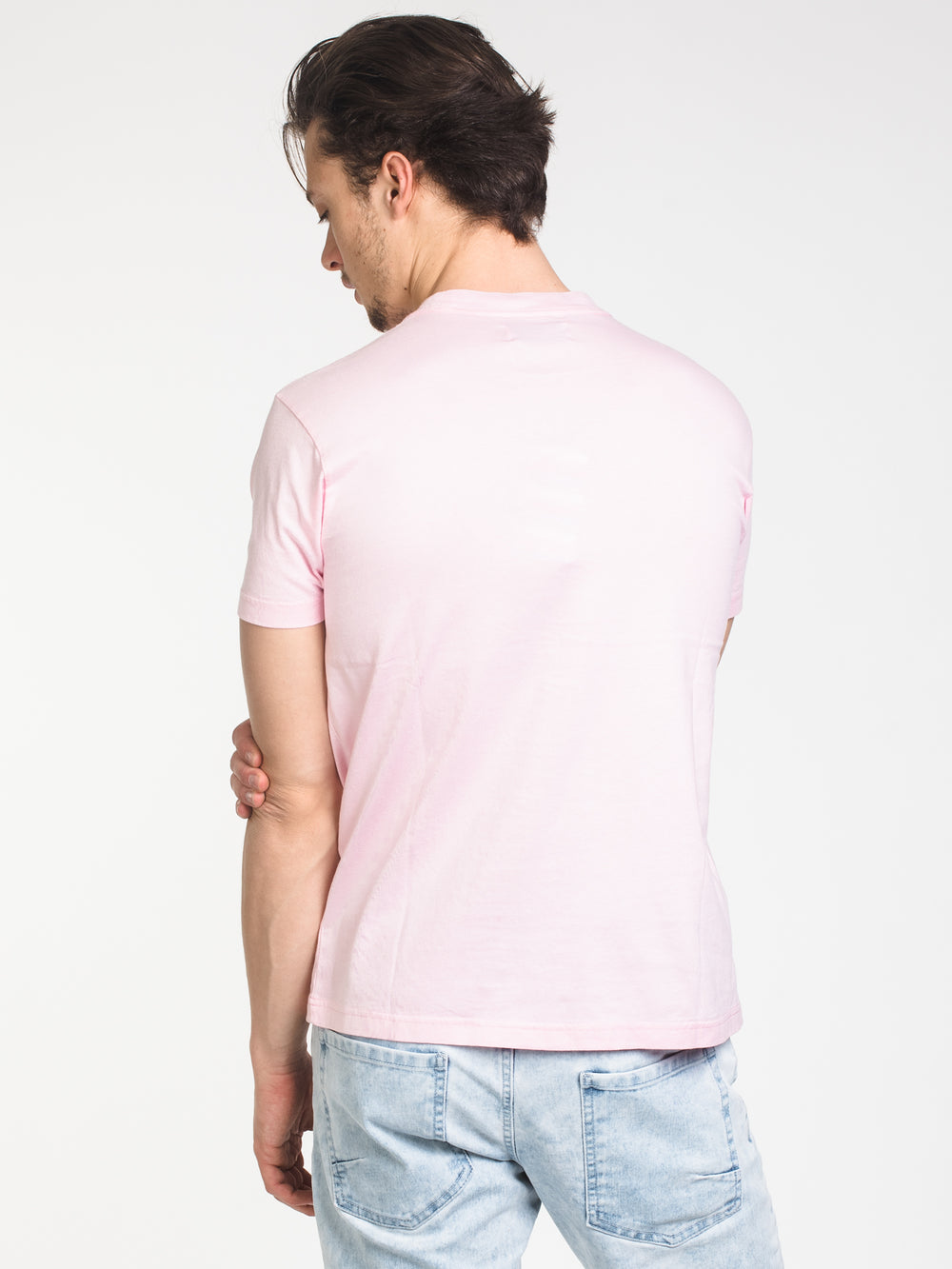 MENS 1 YEAR AGO SHORT SLEEVE T-SHIRT- LIGHT PINK