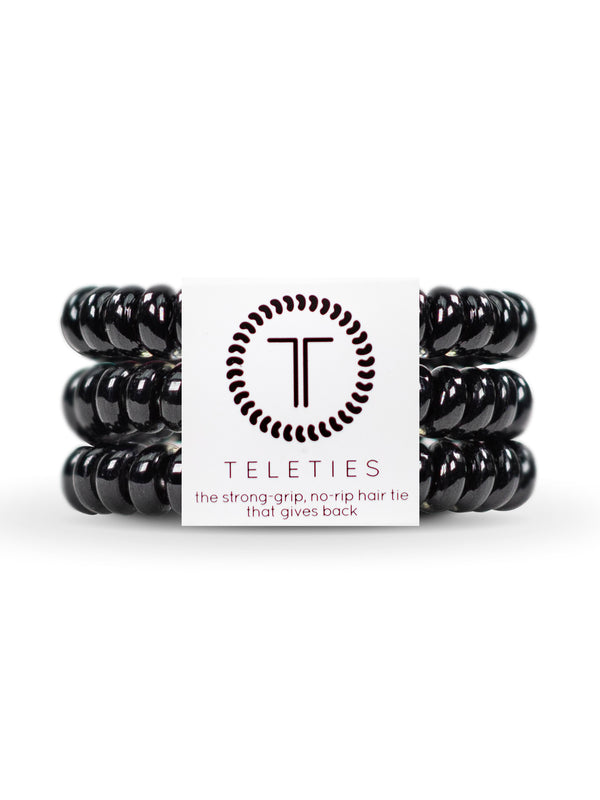 HAIR TIE SML - JET BLACK