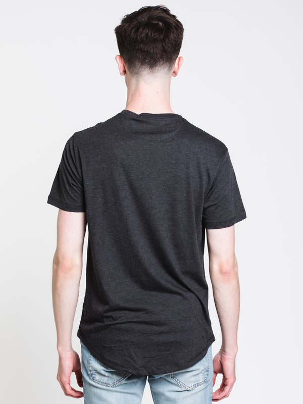 MENS TIMBERLAND SHORT SLEEVET-SHIRT- BLACK
