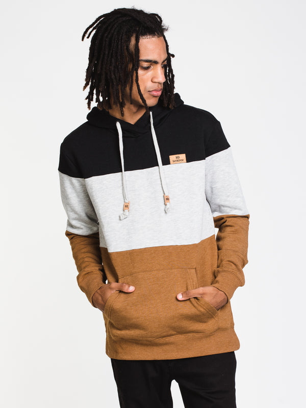 MENS BLCKD REYNARD PULL OVER HD - STRIPE