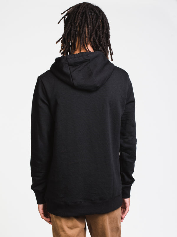 MENS REYNARD PULL OVER HD - BLACK