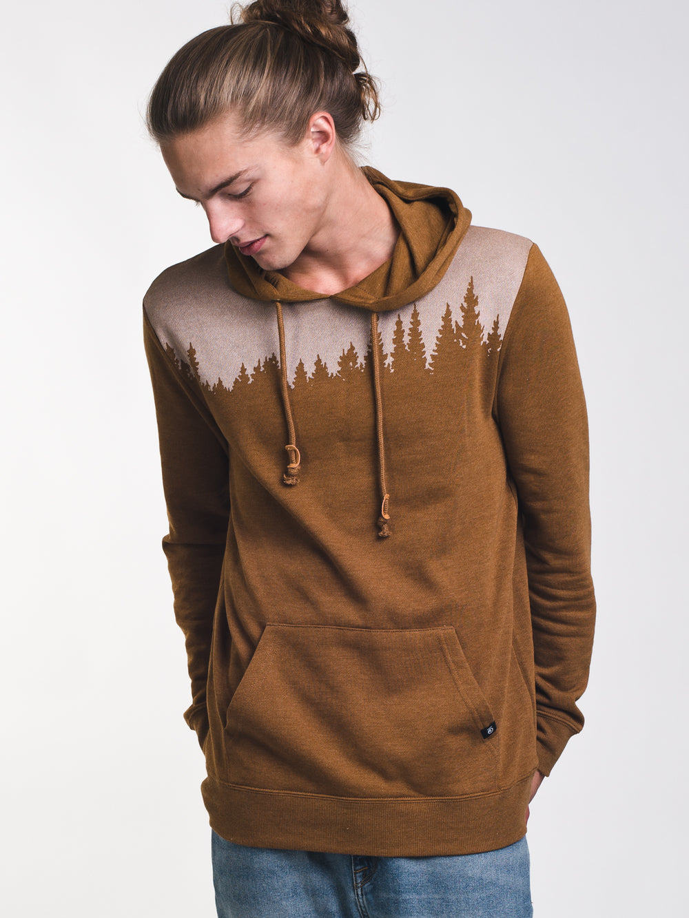 MENS JUNIPER PULL OVER HOODIE- RUBBER