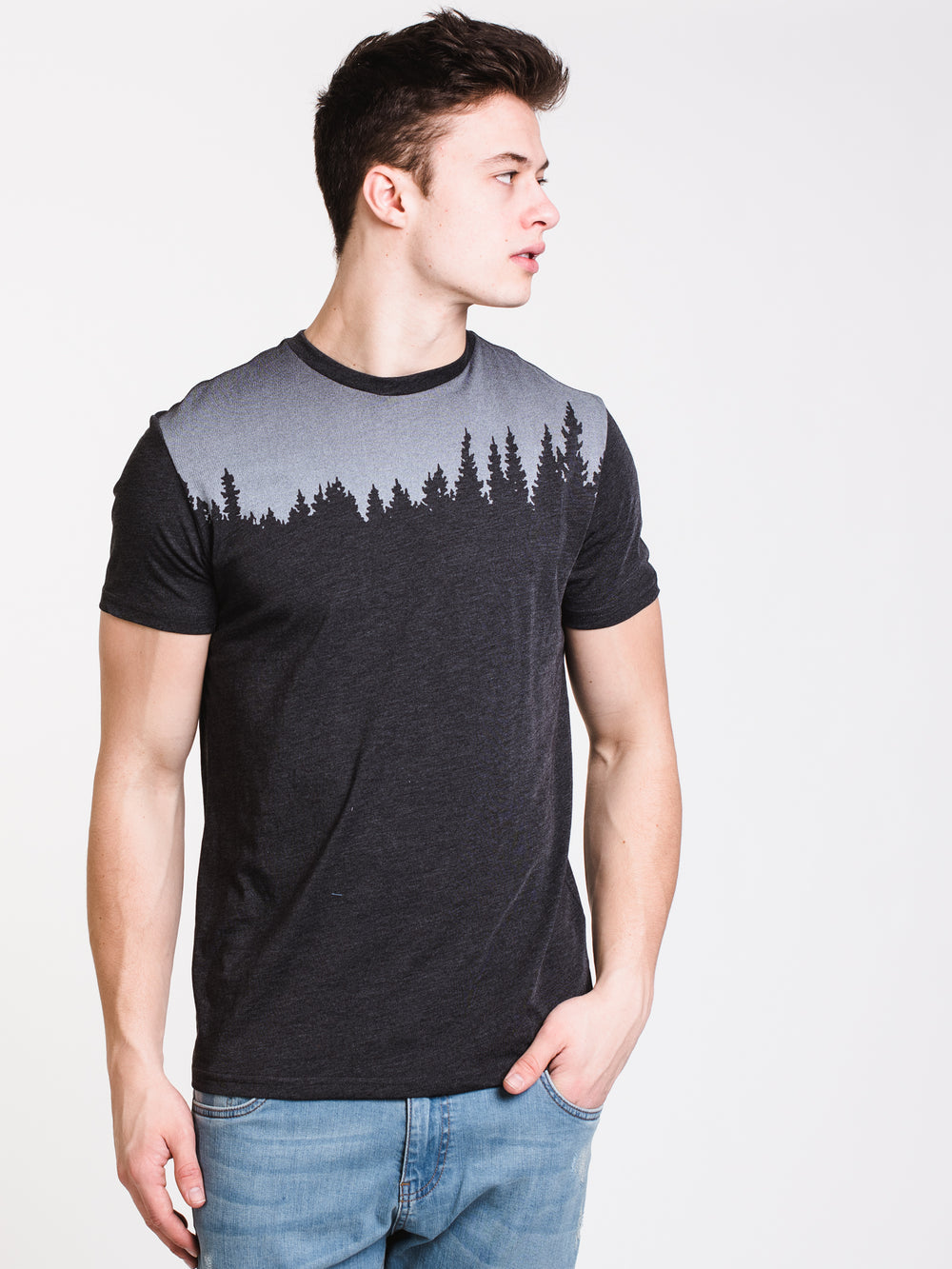 MENS JUNIPER SHORT SLEEVE T-SHIRT - BLACK