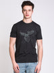 MENS MOOSE SHORT SLEEVE T-SHIRT- PHANTOM BLACK