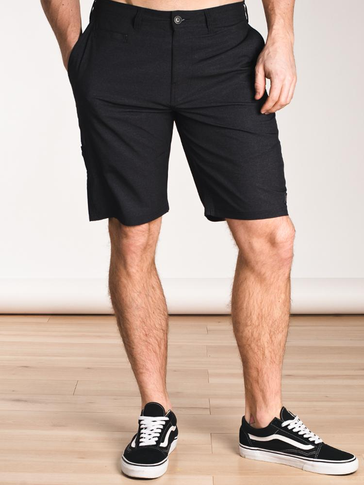 MENS WOLLASTON SHORT - BLACK- CLEARANCE