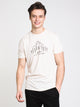 MENS WITHIN REACH SHORT SLEEVE T-SHIRT- WHITE