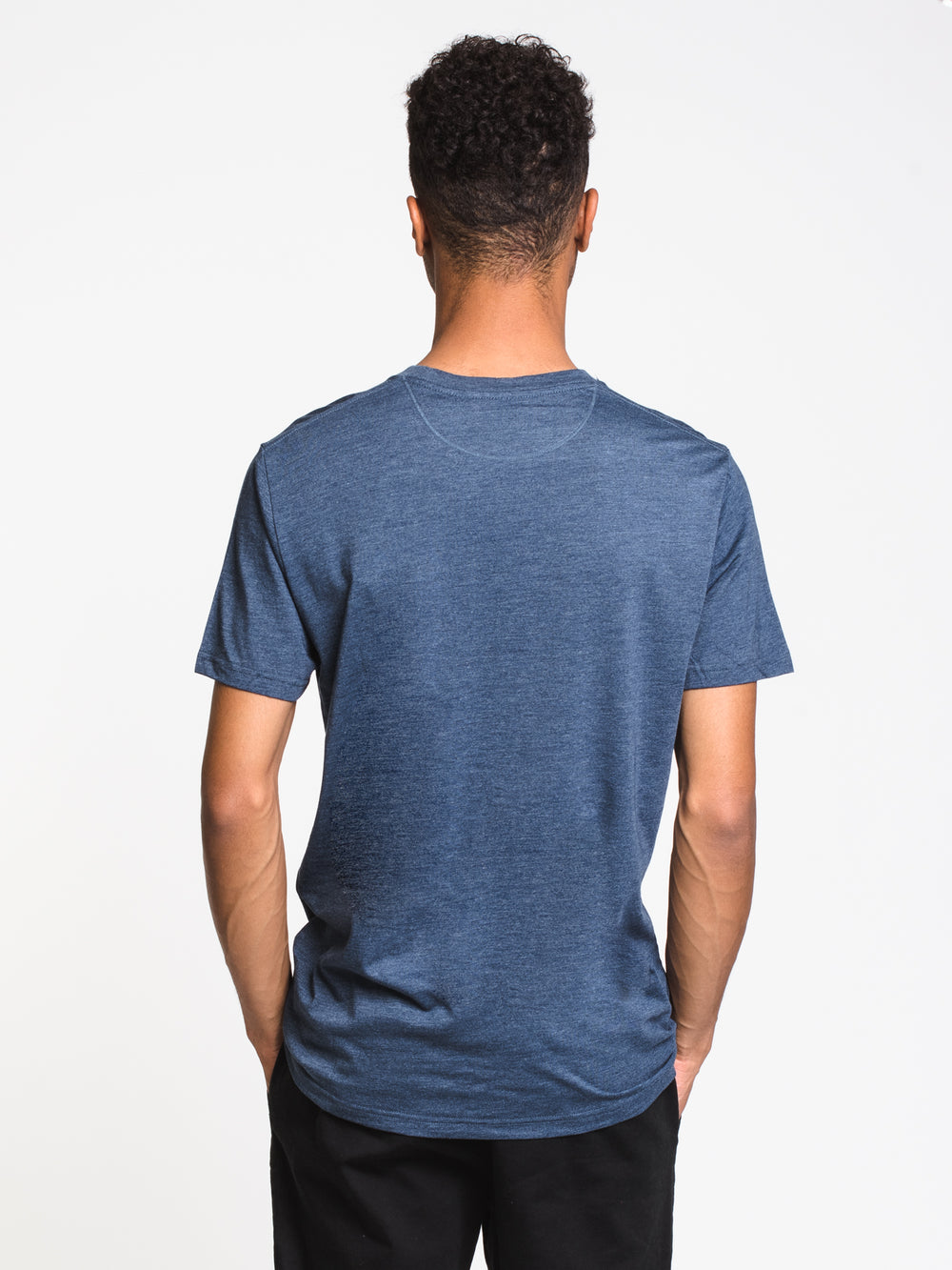 MENS SUPPORT CLASSIC T - OCEAN HTHR