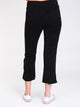 WOMENS LANGFORD 7/8 PANT - BLACK - CLEARANCE