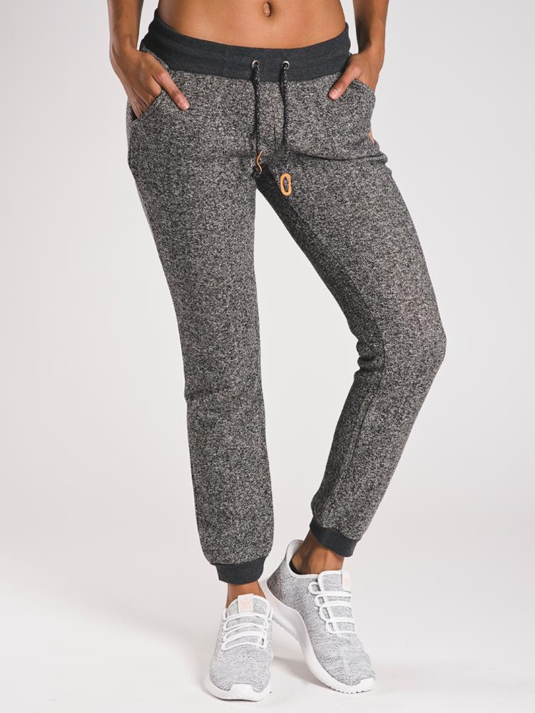 WOMENS BAMONE SWEATPANT - BLACK- CLEARANCE