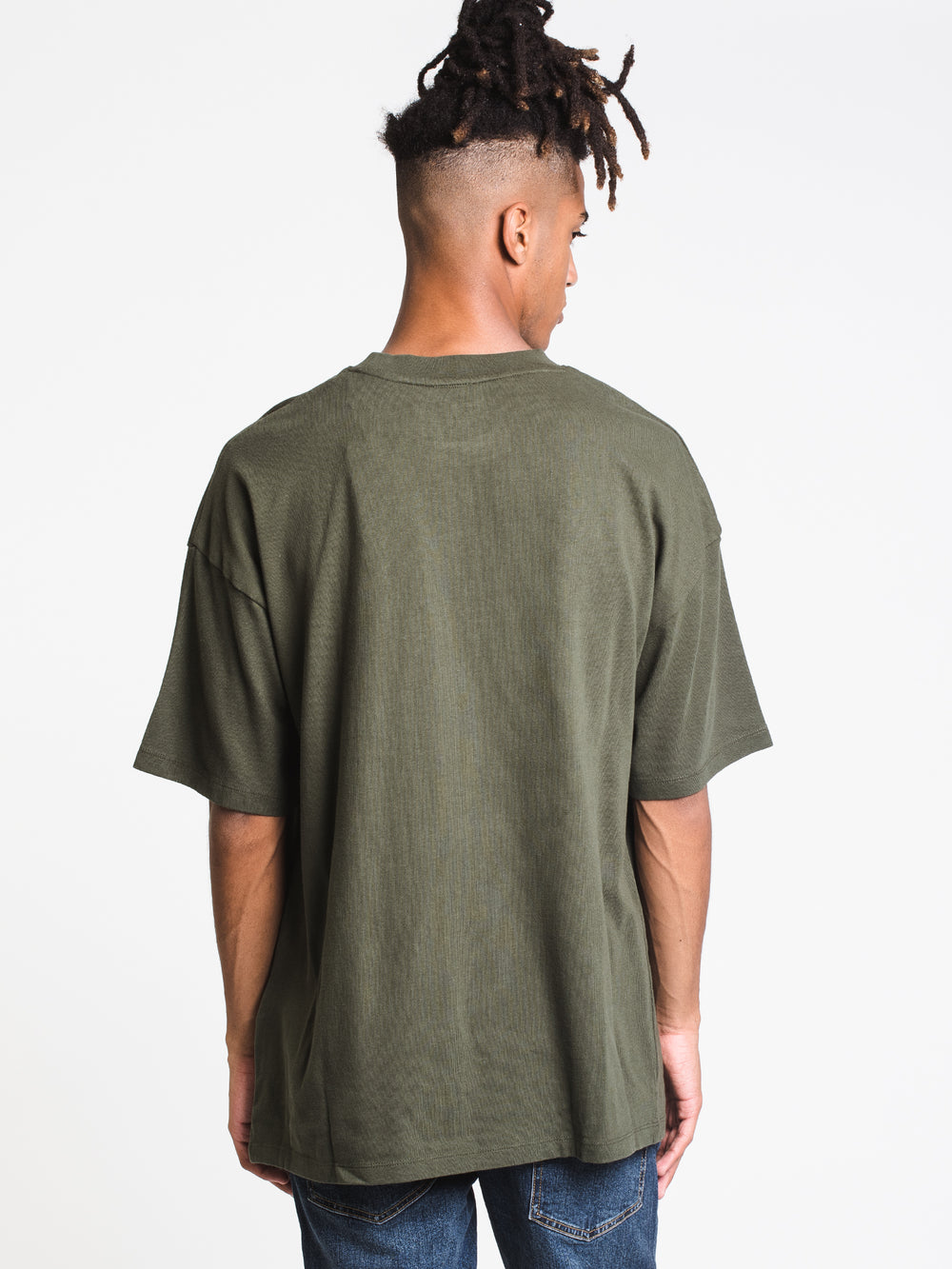 MENS OUTDOOR ARCHIVE EMB SHORT SLEEVE T