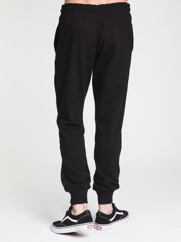 MENS CORE LOGO FLEECE JOGGER - BLACK