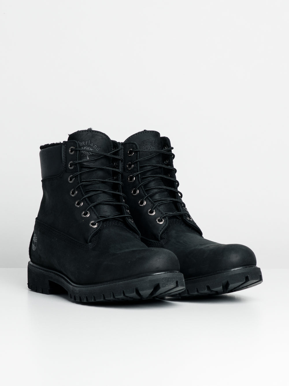 MENS PREM 6' WARM LINED BOOT - BLK