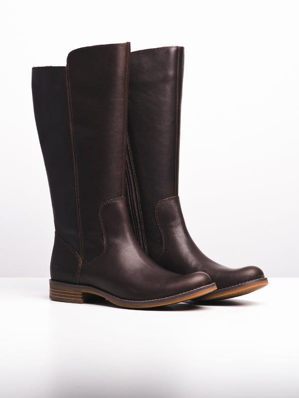 WOMENS MAGBY TALL - DARK BROWN