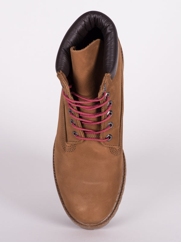 MENS ICON 6' PREM BOOT - BROWN