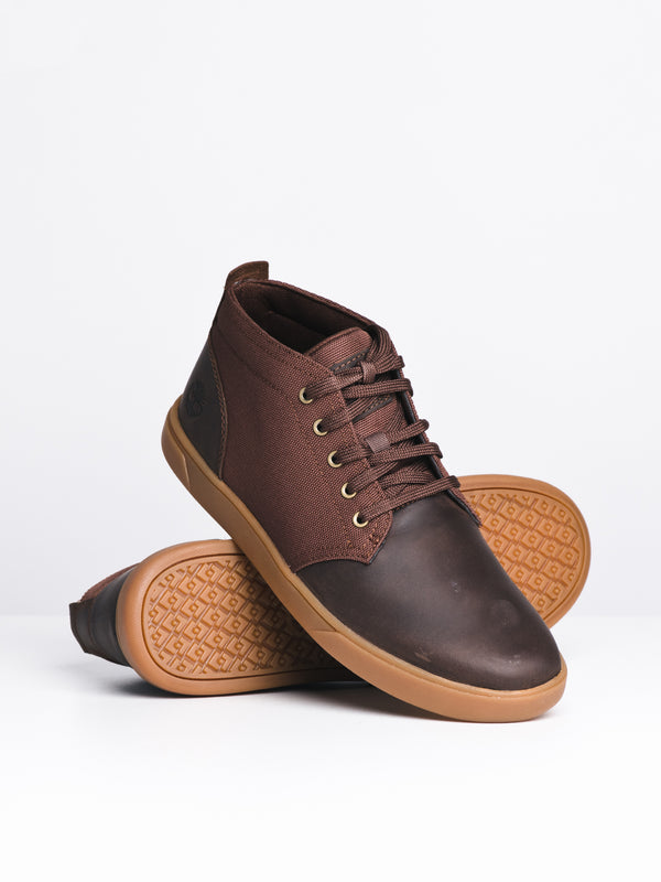 MENS GROVETON CHUKKA - DARK BROWN