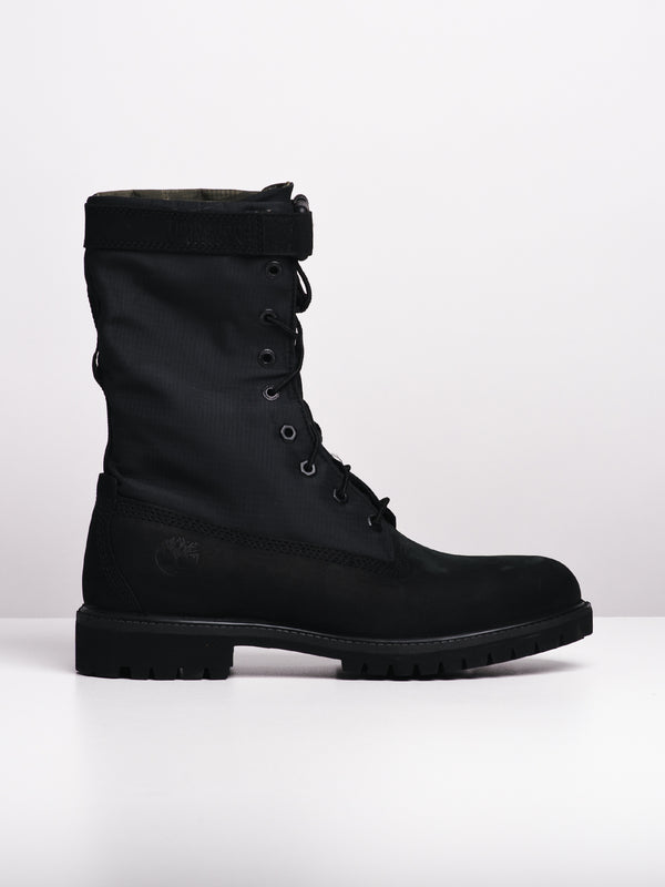 MENS ICON 6' GAITER - BLACK NUBUCK