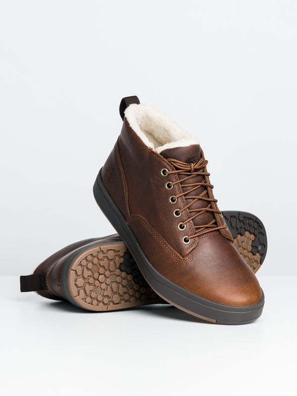 MENS DAVIS SQ LINED CHUKKA BOOT
