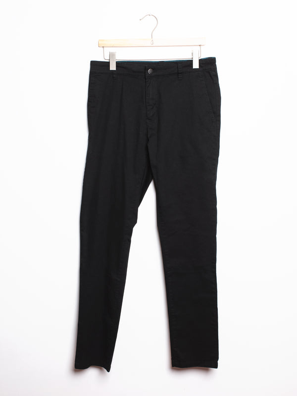 MENS SLIM CHINO - BLACK