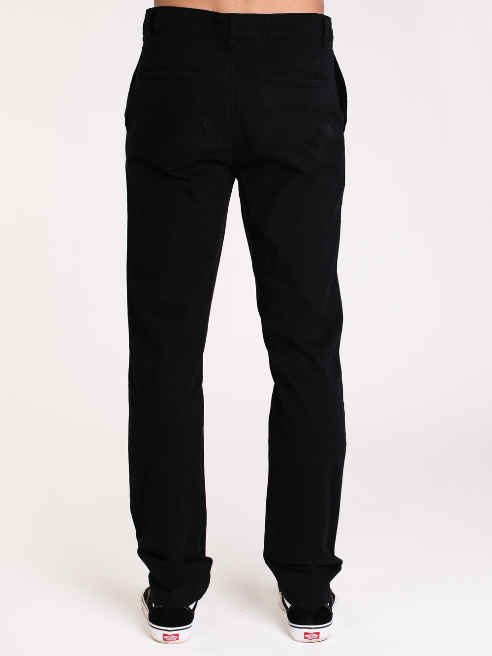 MENS SPRING SLIM CHINO - BLACK