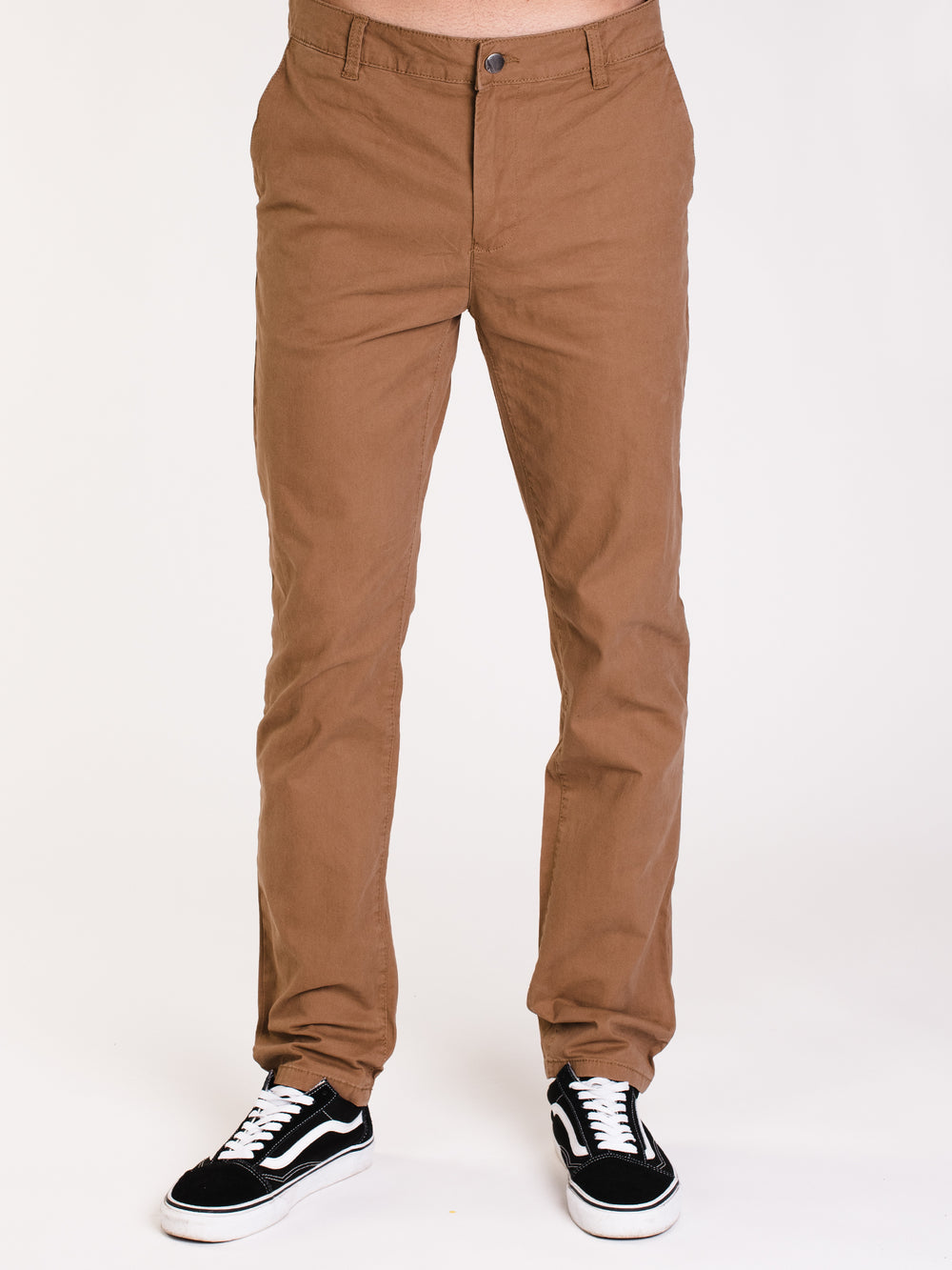 MENS SPRING SLIM CHINO - FLAX - CLEARANCE