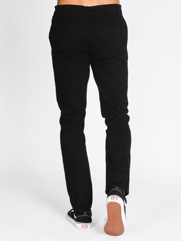 MENS SLIM CHINO PANTS