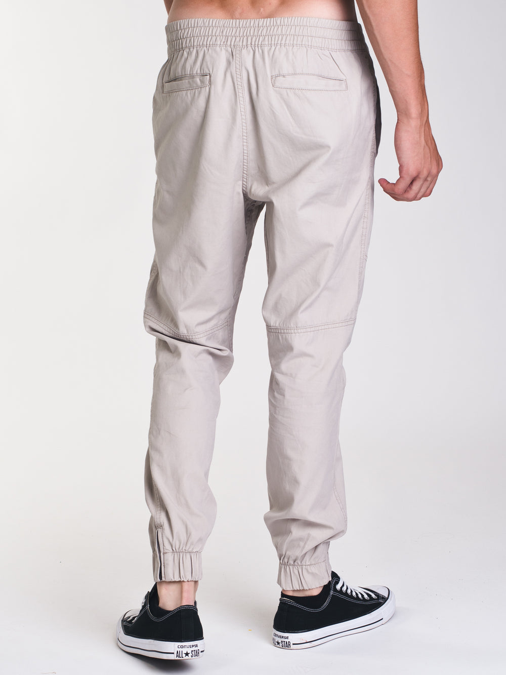 MENS CANVAS JOGGER