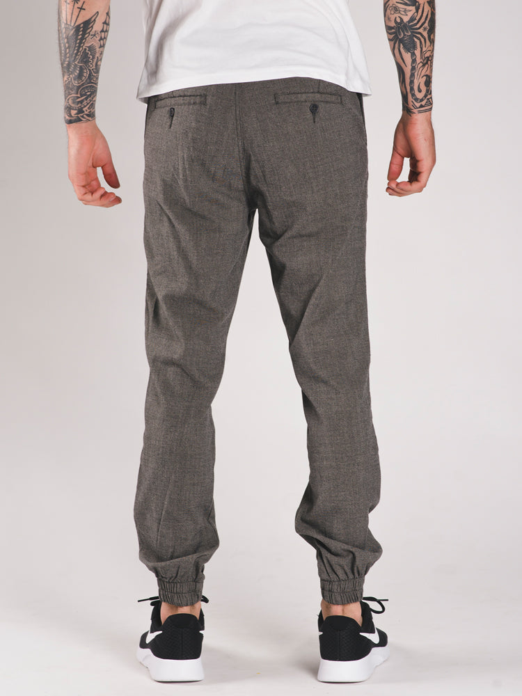 MENS TEXTURED JOGGER CASUAL SWEATPANT - CLEARANCE