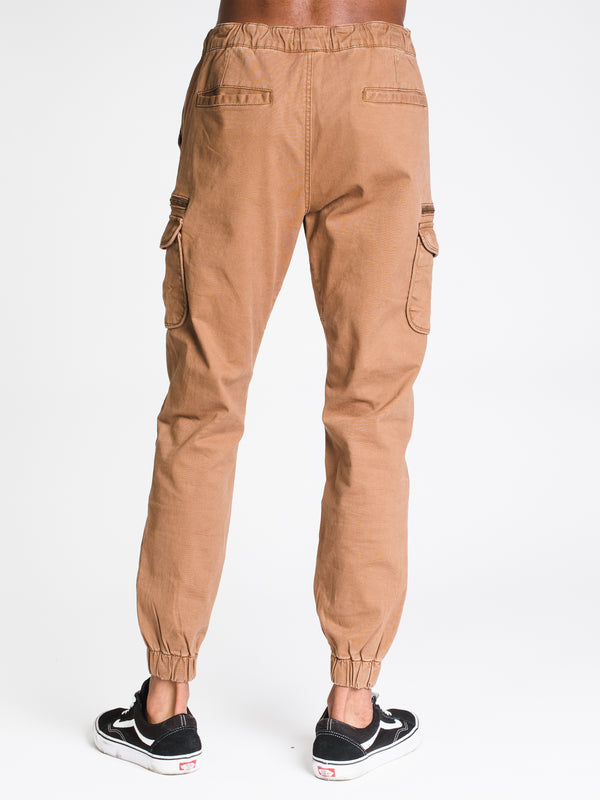 MENS CARGO ZIP CROCKETT JOGGER