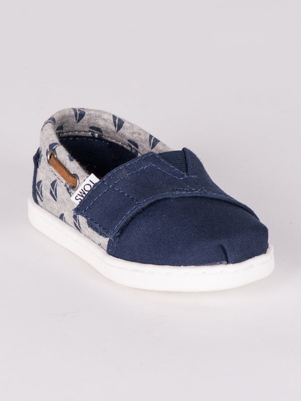 KIDS BIMINI ESPADRILLE - SAILBOATS- CLEARANCE