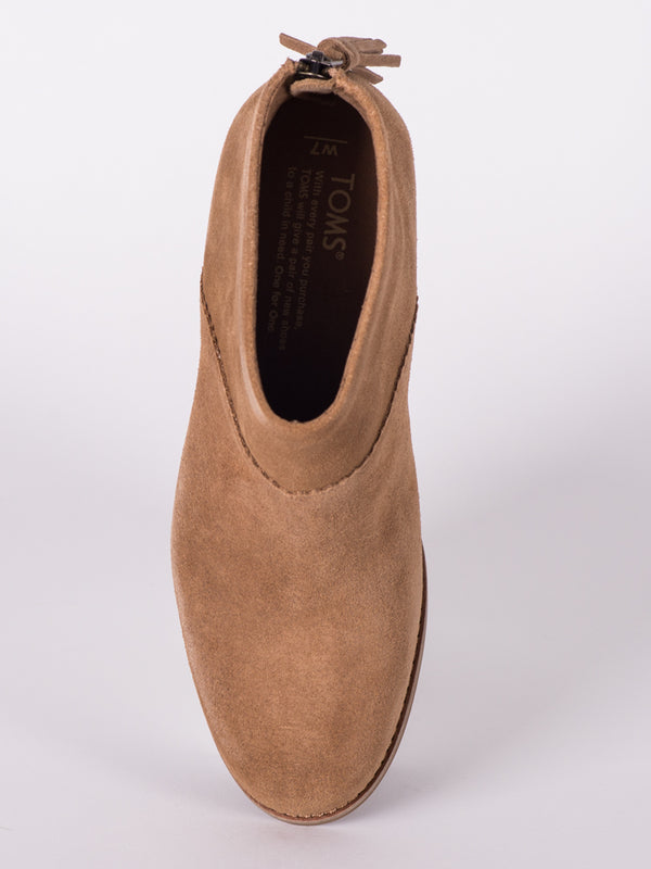 WOMENS LEILA - TOFFEE SUEDE - CLEARANCE