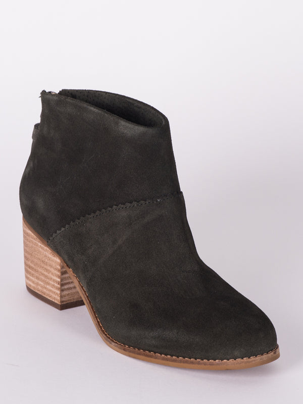 WOMENS LEILA - FOREST SUEDE- CLEARANCE