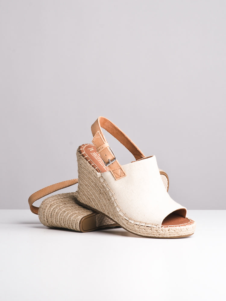 WOMENS THE MONICA - NATURAL - CLEARANCE