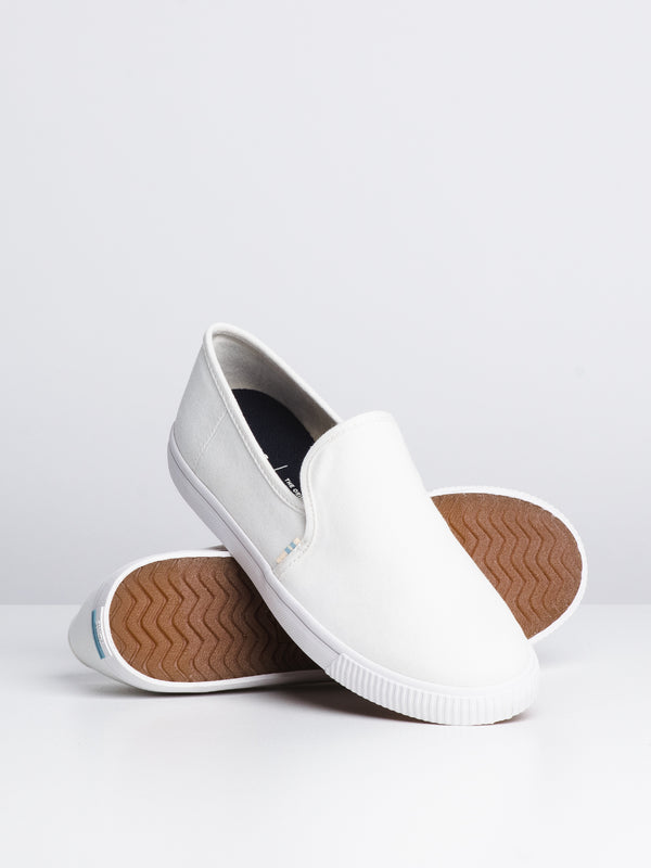 WOMENS CLEMENTE - WHITE CANVAS