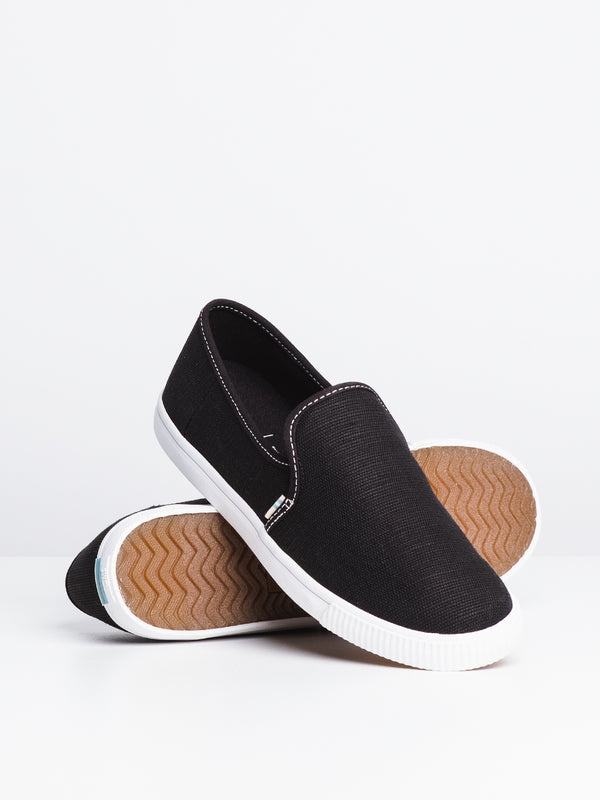 WOMENS CLEMENTE - BLACK CANVAS