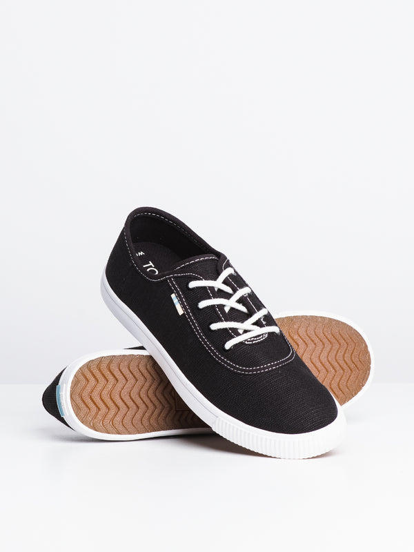 WOMENS CARMEL - BLACK CANVAS