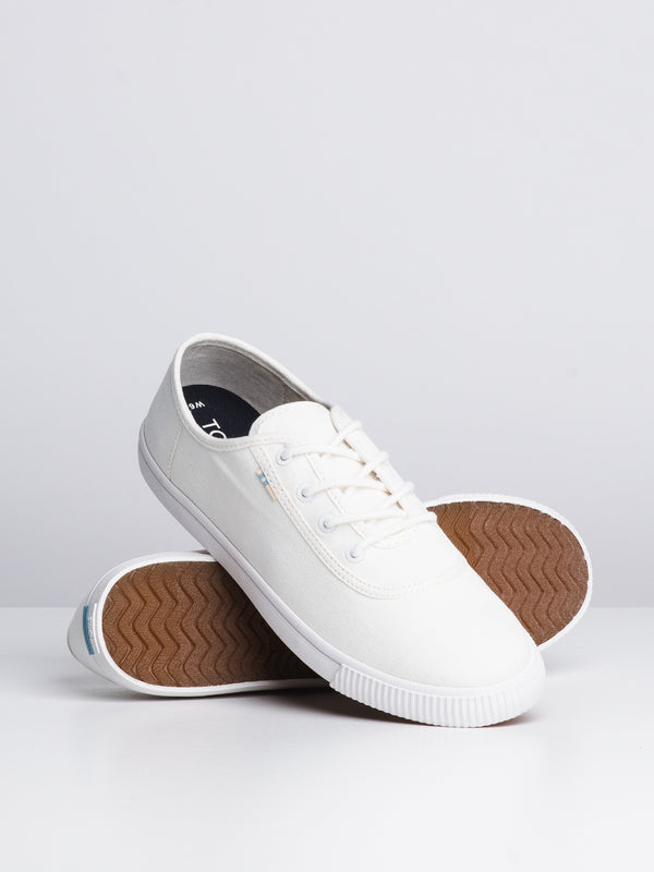 WOMENS CARMEL - WHITE CANVAS