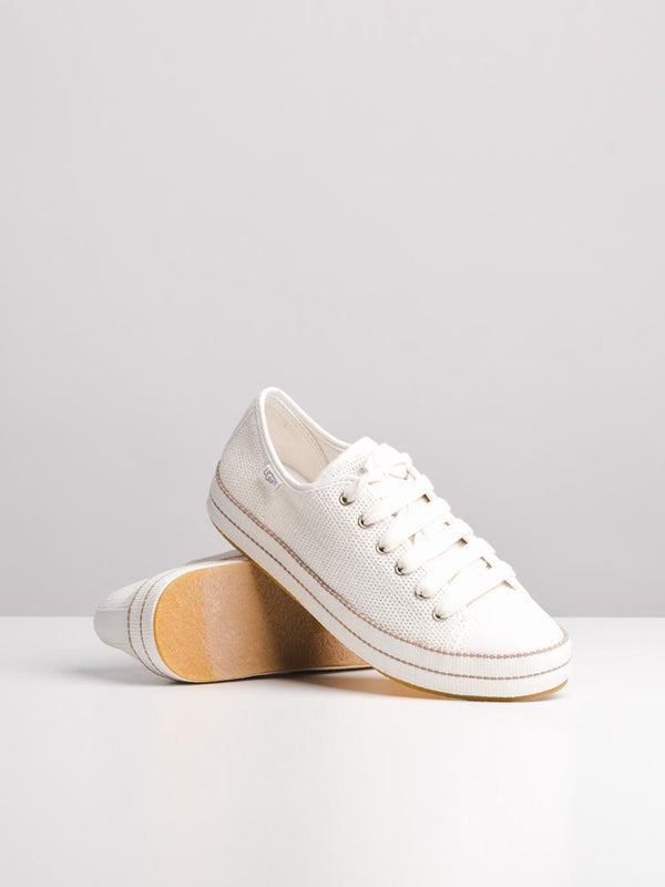 WOMENS CLAUDI NATURAL CANVAS SHOES- CLEARANCE