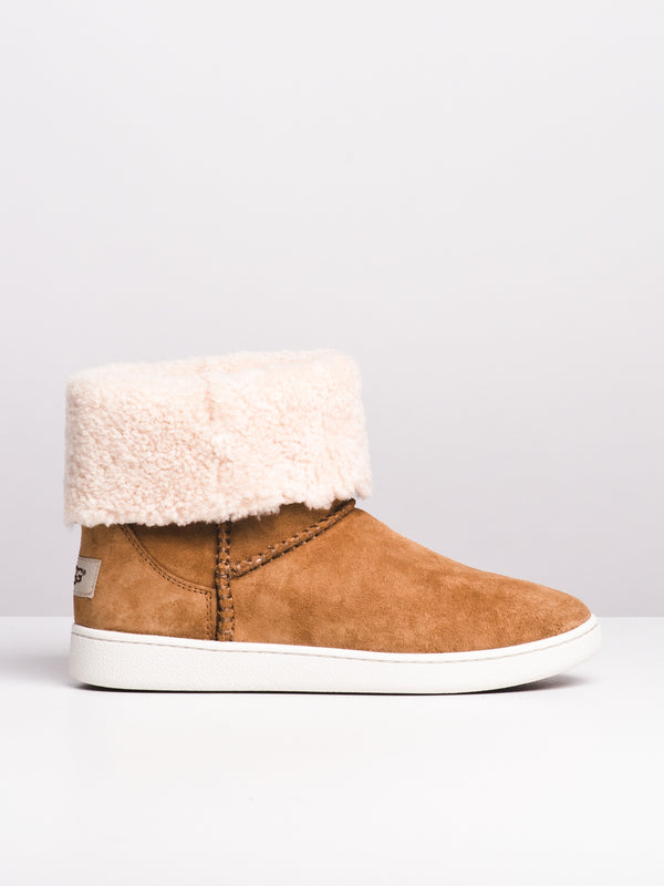 WOMENS MIKA CLASSIC SNKR - CHESTNUT
