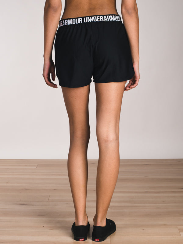 WOMENS PLAY UP 2.0 SHORT - BLACK