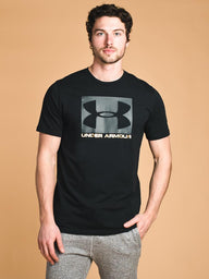 MENS UA BOXED SPORTSTYLE SHORT SLEEVE T SHIRT