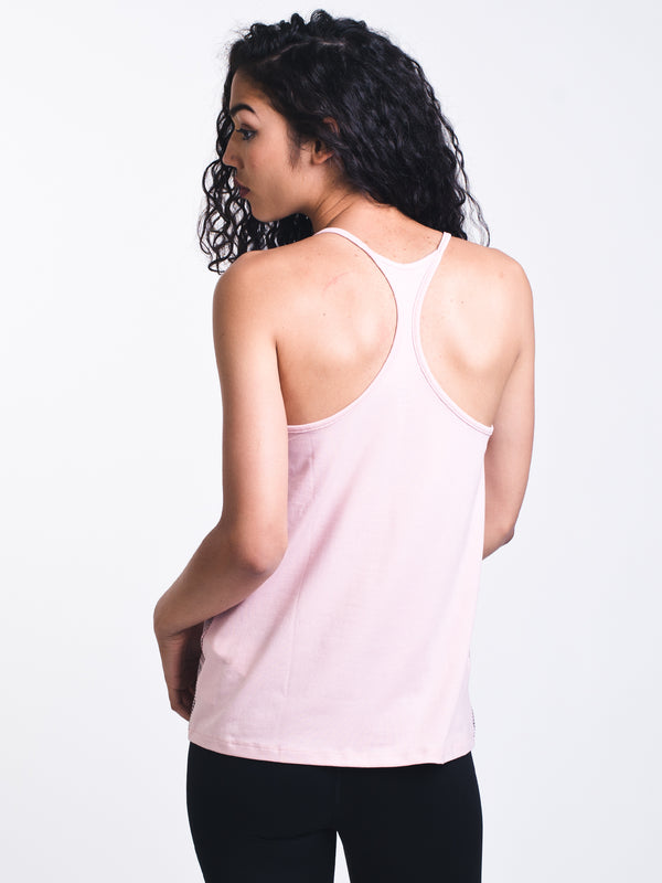 WOMENS GRAPHIC PRINT TANK - PINK