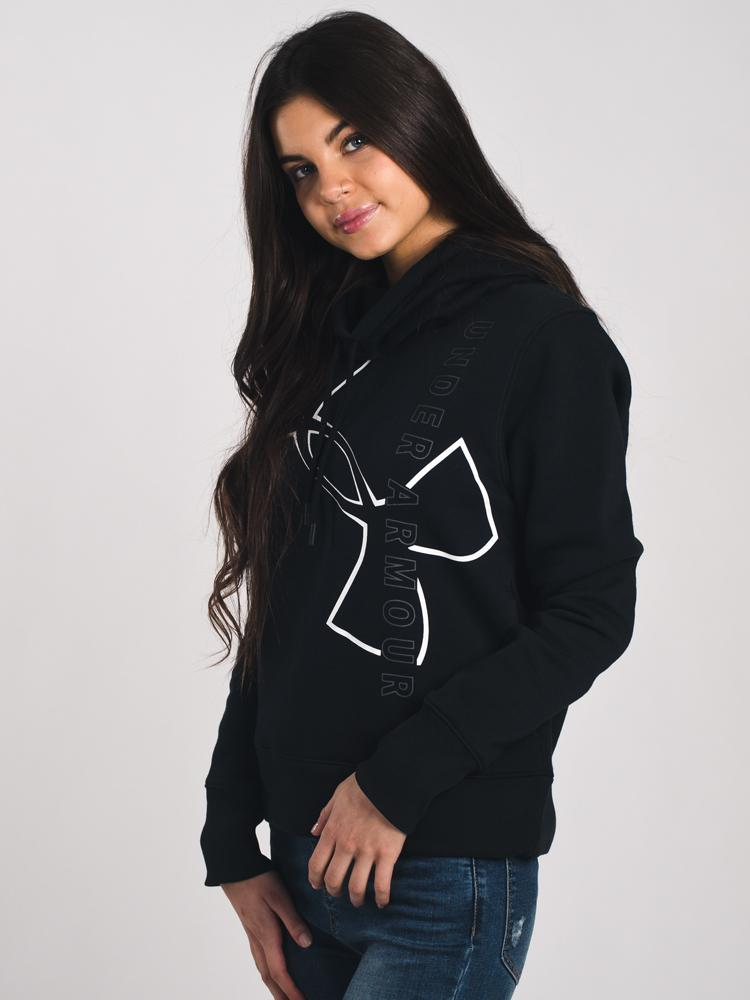 WOMENS FAVORITE FLC EURO PULL OVER HOODIE