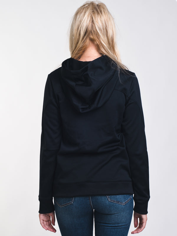 WOMENS SYNTHETIC FLC PULLOVER HOODIE