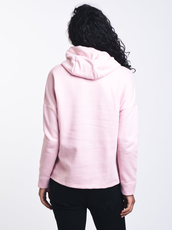 WOMENS RIVAL FLC BL HOODIE - PINK