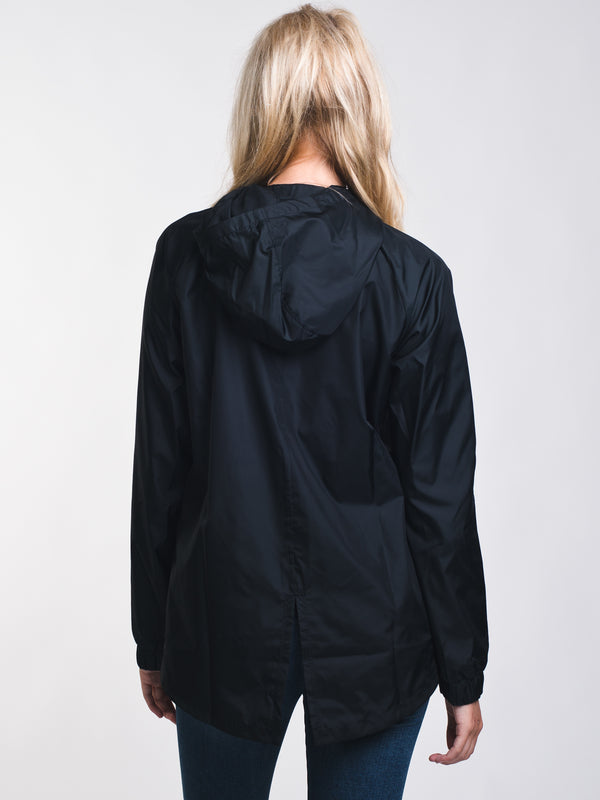 WOMENS STORM IRIDESCENT JACKET - BLACK