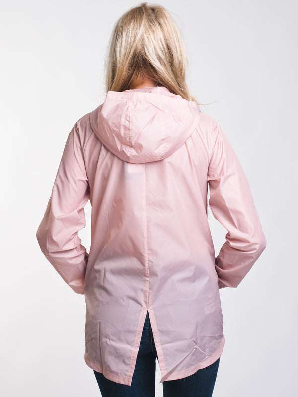 WOMENS STORM IRIDESCENT JACKET - PINK